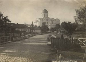 volodymyr-Успенський Собор (збудований 1160 р.).